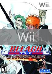 Image of Bleach Shattered Blade original video game for Wii classic game system. Rocket City Arcade, Huntsville Al. We ship used video games Nationwide