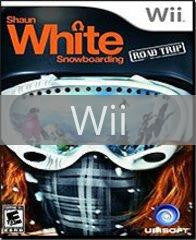 Image of Shaun White Snowboarding Road Trip original video game for Wii classic game system. Rocket City Arcade, Huntsville Al. We ship used video games Nationwide