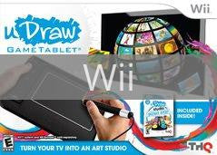 Image of uDraw Gametablet w/uDraw Studio: Instant Artist original video game for Wii classic game system. Rocket City Arcade, Huntsville Al. We ship used video games Nationwide