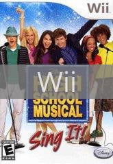 Image of High School Musical Sing It original video game for Wii classic game system. Rocket City Arcade, Huntsville Al. We ship used video games Nationwide