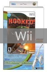 Wii Hooked Real Motion Fishing Controller