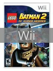 Image of LEGO Batman 2 original video game for Wii classic game system. Rocket City Arcade, Huntsville Al. We ship used video games Nationwide