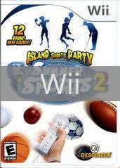 Image of Summer Sports 2 Island Sports Party original video game for Wii classic game system. Rocket City Arcade, Huntsville Al. We ship used video games Nationwide