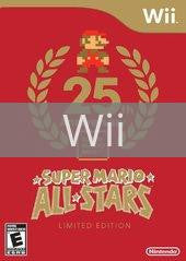 Image of Super Mario All-Stars Limited Edition original video game for Wii classic game system. Rocket City Arcade, Huntsville Al. We ship used video games Nationwide
