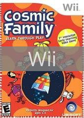 Image of Cosmic Family original video game for Wii classic game system. Rocket City Arcade, Huntsville Al. We ship used video games Nationwide