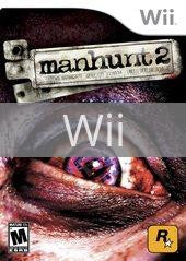 Image of Manhunt 2 original video game for Wii classic game system. Rocket City Arcade, Huntsville Al. We ship used video games Nationwide