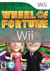Image of Wheel of Fortune original video game for Wii classic game system. Rocket City Arcade, Huntsville Al. We ship used video games Nationwide