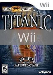 Image of Hidden Mysteries: Titanic original video game for Wii classic game system. Rocket City Arcade, Huntsville Al. We ship used video games Nationwide
