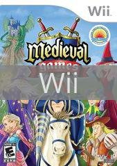 Image of Medieval Games original video game for Wii classic game system. Rocket City Arcade, Huntsville Al. We ship used video games Nationwide