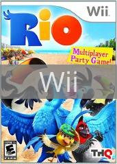 Image of Rio original video game for Wii classic game system. Rocket City Arcade, Huntsville Al. We ship used video games Nationwide