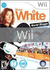 Image of Shaun White Snowboarding: World Stage original video game for Wii classic game system. Rocket City Arcade, Huntsville Al. We ship used video games Nationwide