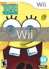Image of SpongeBob's Truth or Square original video game for Wii classic game system. Rocket City Arcade, Huntsville Al. We ship used video games Nationwide