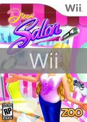 Image of Dream Salon original video game for Wii classic game system. Rocket City Arcade, Huntsville Al. We ship used video games Nationwide