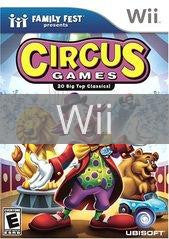 Image of Circus Games original video game for Wii classic game system. Rocket City Arcade, Huntsville Al. We ship used video games Nationwide
