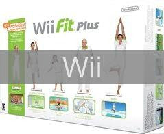 Image of Wii Fit Plus with Balance Board original video game for Wii classic game system. Rocket City Arcade, Huntsville Al. We ship used video games Nationwide