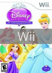 Image of Disney Princess: My Fairytale Adventure original video game for Wii classic game system. Rocket City Arcade, Huntsville Al. We ship used video games Nationwide