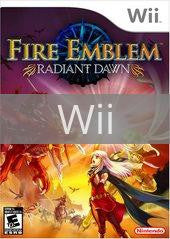 Image of Fire Emblem Radiant Dawn original video game for Wii classic game system. Rocket City Arcade, Huntsville Al. We ship used video games Nationwide
