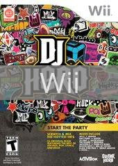 Image of DJ Hero (game only) original video game for Wii classic game system. Rocket City Arcade, Huntsville Al. We ship used video games Nationwide
