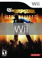 Image of Def Jam Rapstar original video game for Wii classic game system. Rocket City Arcade, Huntsville Al. We ship used video games Nationwide