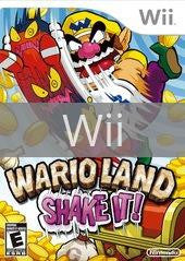 Image of Wario Land Shake It original video game for Wii classic game system. Rocket City Arcade, Huntsville Al. We ship used video games Nationwide