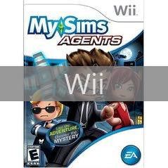 Image of MySims Agents original video game for Wii classic game system. Rocket City Arcade, Huntsville Al. We ship used video games Nationwide