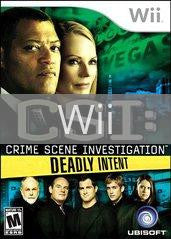 Image of CSI: Crime Scene Investigation: Deadly Intent original video game for Wii classic game system. Rocket City Arcade, Huntsville Al. We ship used video games Nationwide