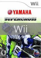 Image of Yamaha Supercross original video game for Wii classic game system. Rocket City Arcade, Huntsville Al. We ship used video games Nationwide