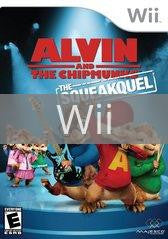 Image of Alvin and The Chipmunks: The Squeakquel original video game for Wii classic game system. Rocket City Arcade, Huntsville Al. We ship used video games Nationwide