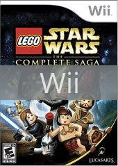 Image of LEGO Star Wars Complete Saga original video game for Wii classic game system. Rocket City Arcade, Huntsville Al. We ship used video games Nationwide