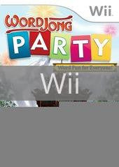 Image of WordJong Party original video game for Wii classic game system. Rocket City Arcade, Huntsville Al. We ship used video games Nationwide