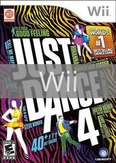 Image of Just Dance 4 original video game for Wii classic game system. Rocket City Arcade, Huntsville Al. We ship used video games Nationwide