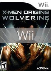Image of X-Men Origins: Wolverine original video game for Wii classic game system. Rocket City Arcade, Huntsville Al. We ship used video games Nationwide