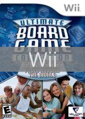 Image of Ultimate Board Game Collection original video game for Wii classic game system. Rocket City Arcade, Huntsville Al. We ship used video games Nationwide