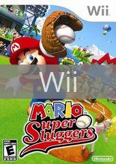 Image of Mario Super Sluggers original video game for Wii classic game system. Rocket City Arcade, Huntsville Al. We ship used video games Nationwide