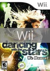 Image of Dancing With The Stars We Dance original video game for Wii classic game system. Rocket City Arcade, Huntsville Al. We ship used video games Nationwide