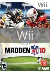 Image of Madden NFL 10 original video game for Wii classic game system. Rocket City Arcade, Huntsville Al. We ship used video games Nationwide