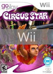 Image of Go Play Circus Star original video game for Wii classic game system. Rocket City Arcade, Huntsville Al. We ship used video games Nationwide