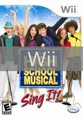 Image of High School Musical Sing It Bundle original video game for Wii classic game system. Rocket City Arcade, Huntsville Al. We ship used video games Nationwide