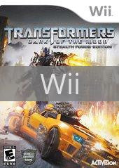 Image of Transformers: Dark of the Moon Stealth Force Edition original video game for Wii classic game system. Rocket City Arcade, Huntsville Al. We ship used video games Nationwide