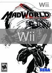 Image of MadWorld original video game for Wii classic game system. Rocket City Arcade, Huntsville Al. We ship used video games Nationwide