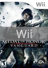 Image of Medal of Honor Vanguard original video game for Wii classic game system. Rocket City Arcade, Huntsville Al. We ship used video games Nationwide