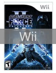 Image of Star Wars: The Force Unleashed II original video game for Wii classic game system. Rocket City Arcade, Huntsville Al. We ship used video games Nationwide