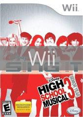 Image of Disney Sing It High School Musical 3 original video game for Wii classic game system. Rocket City Arcade, Huntsville Al. We ship used video games Nationwide
