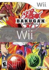 Image of Bakugan Battle Brawlers original video game for Wii classic game system. Rocket City Arcade, Huntsville Al. We ship used video games Nationwide