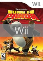 Image of Kung Fu Panda original video game for Wii classic game system. Rocket City Arcade, Huntsville Al. We ship used video games Nationwide