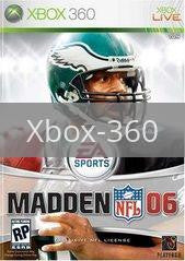 Image of Madden 2006 original video game for Xbox 360 classic game system. Rocket City Arcade, Huntsville Al. We ship used video games Nationwide