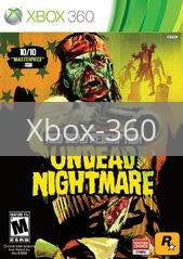Image of Red Dead Redemption Undead Nightmare Collection original video game for Xbox 360 classic game system. Rocket City Arcade, Huntsville Al. We ship used video games Nationwide