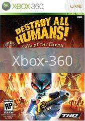 Image of Destroy All Humans! Path of the Furon original video game for Xbox 360 classic game system. Rocket City Arcade, Huntsville Al. We ship used video games Nationwide