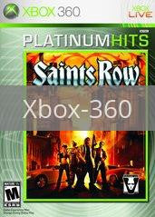 Image of Saints Row original video game for Xbox 360 classic game system. Rocket City Arcade, Huntsville Al. We ship used video games Nationwide