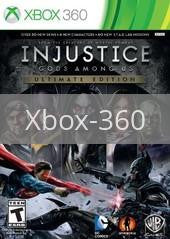 Image of Injustice: Gods Among Us Ultimate Edition original video game for Xbox 360 classic game system. Rocket City Arcade, Huntsville Al. We ship used video games Nationwide